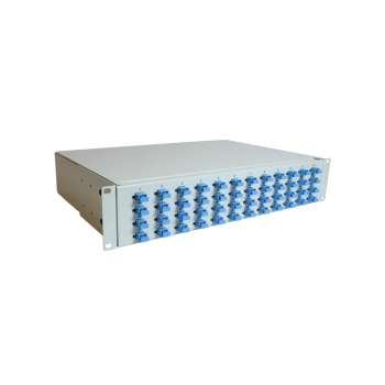 "Patch Panel 19"" fiber patch panel SC sim 48 ports"