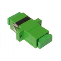 Adapter, SC/APC Plastic housing, zirconia
