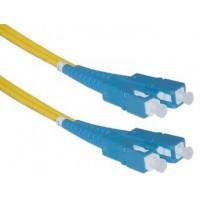 Patch cord,  duplex, SM, SC-SC, 1.0m